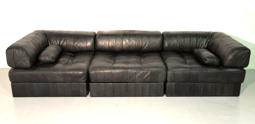 leather sofa bed.  bed swiss ds 88 leather sofabed from de sede 1960s 1 throughout sofa bed s