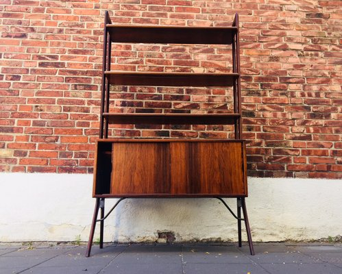 Rosewood Teak Bookshelf Unit By Kurt Stervig For K P Mbler