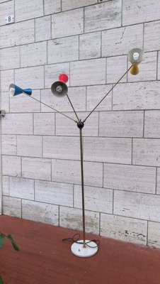 Colorful Floor Lamp 1960s For At