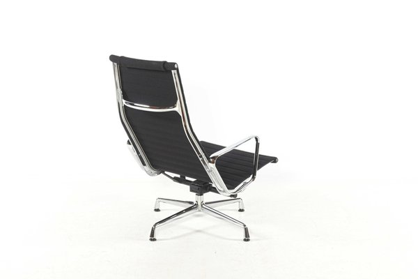 Vitra Chalres Eames : Mid century ea124 lounge chair by charles & ray eames for vitra for