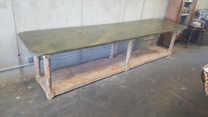 Large Antique French Console Table 1