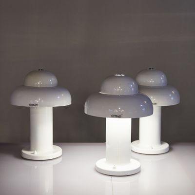 Delicieux Vintage Cloud Table Lamp By OPTEAM, 1970s 2