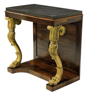 Antique Regency Console Table 1