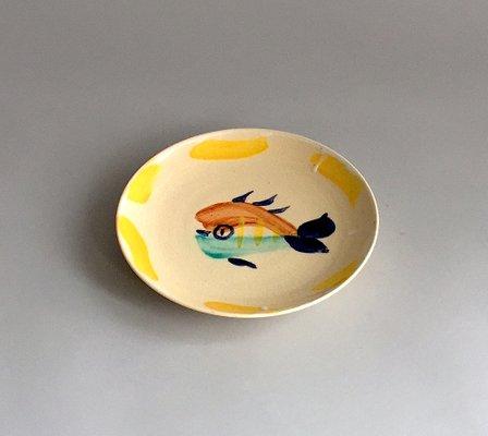 Piatto Con Pesce Di Pablo Picasso Per Madoura 1947 In Vendita Su Pamono