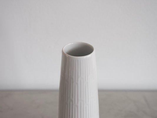 Vintage White Porcelain Vase From Meissen Porcelain For Sale At Pamono