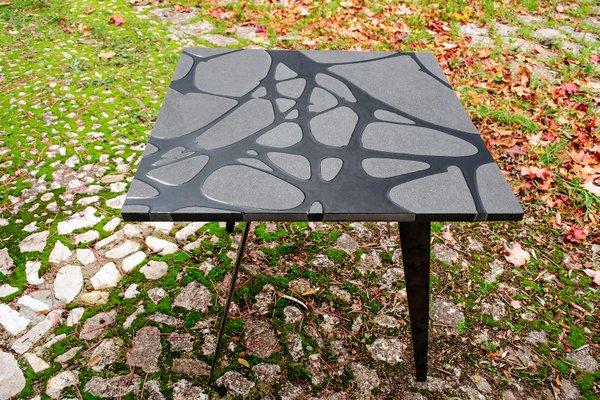 Tavoli Da Giardino Pietra Lavica.Tavolo Da Giardino Filodifumo Ventura V3 In Pietra Lavica Ed
