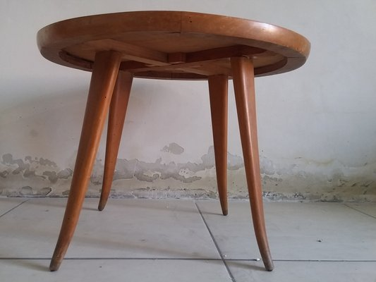 Superieur Cherry Wood Coffee Table, 1950s