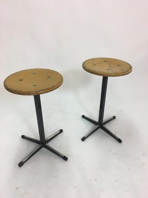 Vintage Industrial Stools From Marko Set Of 2 For Sale At Pamono