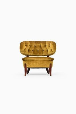 Model Schulz Lounge Chair By Otto Schulz For Boet 1940s