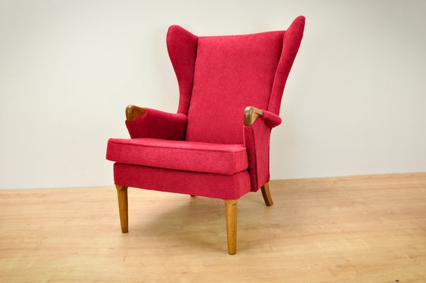 Vintage Wingback Chair from Parker Knoll, 1960s 2 - Vintage Wingback Chair From Parker Knoll, 1960s For Sale At Pamono