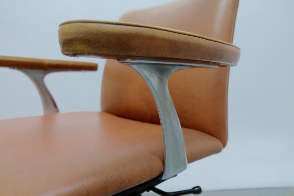 Vintage Desk Chair by Finn Juhl for France & Son 15 - Vintage Desk Chair By Finn Juhl For France & Son For Sale At Pamono