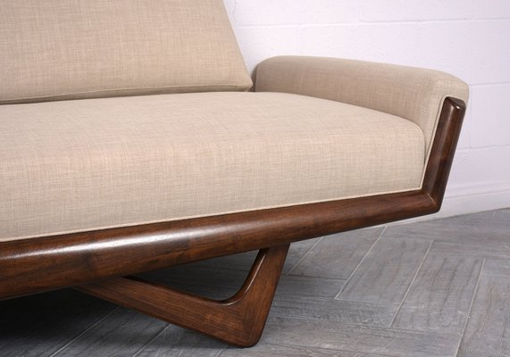 Peachy Mid Century Gondola Sofa By Adrian Pearsall 1960S Creativecarmelina Interior Chair Design Creativecarmelinacom