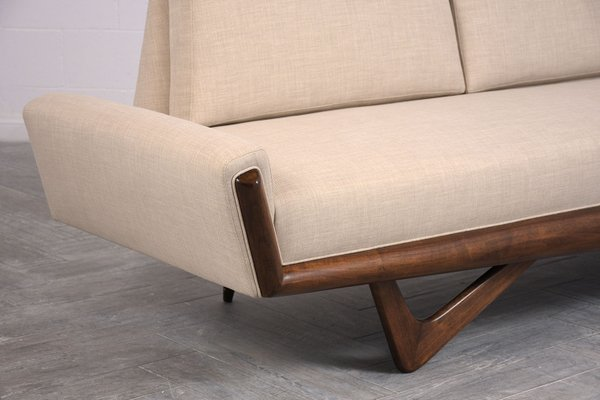Incredible Mid Century Gondola Sofa By Adrian Pearsall 1960S Creativecarmelina Interior Chair Design Creativecarmelinacom