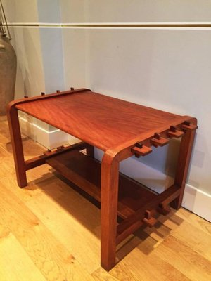 French Cherry Coffee Table 1940s