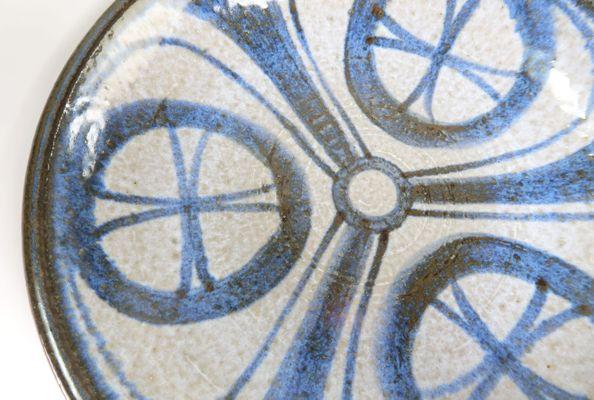 Wanddekoration Oder Tafelaufsatz In Blau U0026 Grau Von Soholm, 1960er 3