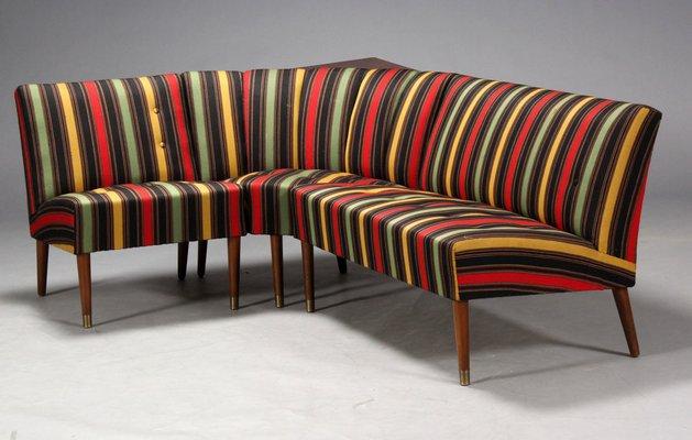 Danish Modular Corner Sofa, 1950s for sale at Pamono