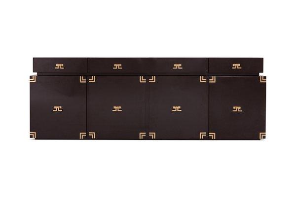 Credenza Dark Brown : Dark brown sideboard from maison jansen 1960s for sale at pamono
