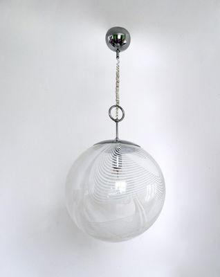 Runde Murano Glas Hängelampe von Lino Tagliapietra für La Murrina ...