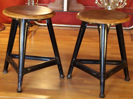 Fantastic German Industrial Stool 1940S Cjindustries Chair Design For Home Cjindustriesco