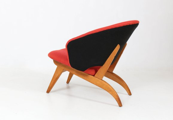 Astounding Mid Century Dutch Modern Lounge Chair By Theo Ruth For Artifort 1950S Gmtry Best Dining Table And Chair Ideas Images Gmtryco