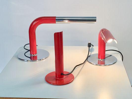 Lampade da tavolo Gulp, Gully, & Pric di Ingo Maurer per M-Design ...