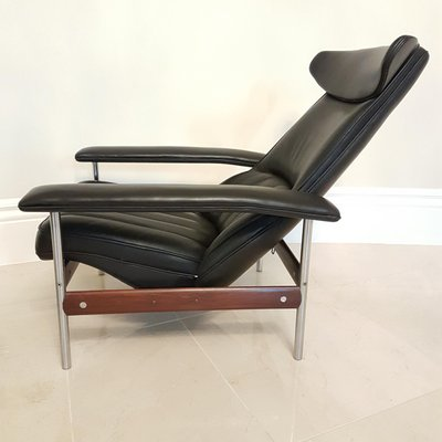 Miraculous Mid Century Recliner Footstool By Sven Ivar Dysthe For Dokka Mobler Ibusinesslaw Wood Chair Design Ideas Ibusinesslaworg