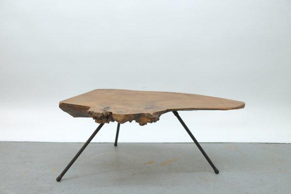 Mid Century Viennese Tree Bark Coffee Table 1950s