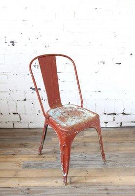 Vintage Tolix Chair Von Xavier Pauchard 1