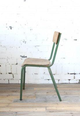 Industrieller Vintage Stuhl In Grün Bei Pamono Kaufen