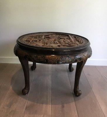 Outstanding Carved Wood Coffee Table 1920S Spiritservingveterans Wood Chair Design Ideas Spiritservingveteransorg