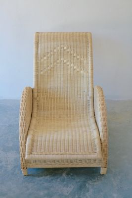 Paris High Back Rattan Chair By Arne Jacobsen, 1985 1