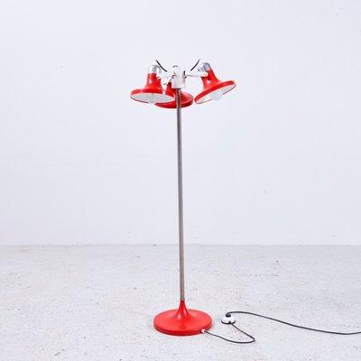 3 Shade Floor Lamp From Kuspi 1970s 1