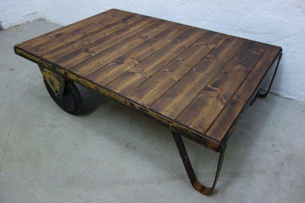 Brilliant Vintage Industrial Coffee Table 1970S Creativecarmelina Interior Chair Design Creativecarmelinacom
