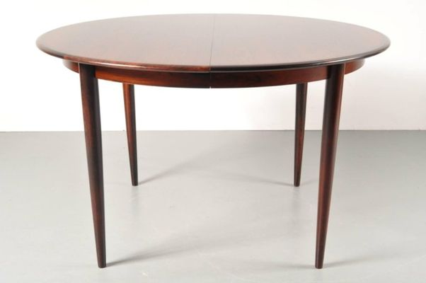 Danish Two Leaf Extendable Dining Table By Arne Vodder For Sibast 1960s 1