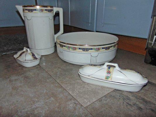 Set da bagno art deco in vendita su pamono