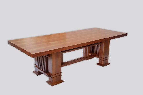 Tavolo Allen 605 in ciliegio di Frank Lloyd Wright per Cassina, 1986 ...