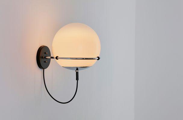 Lampada Vintage Da Parete : Lampada da parete ochtendnevel vintage di frank ligtelijn per peill