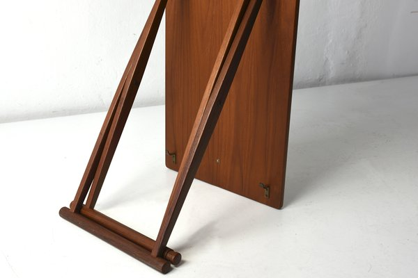Remarkable Small Folding Table From J C Andersen 1960S Theyellowbook Wood Chair Design Ideas Theyellowbookinfo