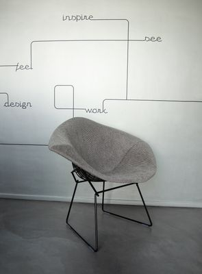 Bon Model 421 Diamond Chair By Harry Bertoia For Knoll, 1950s 1