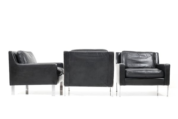 3-Seater Sofa and 3 Lounge Chairs from Tecta, 1960s for sale at Pamono