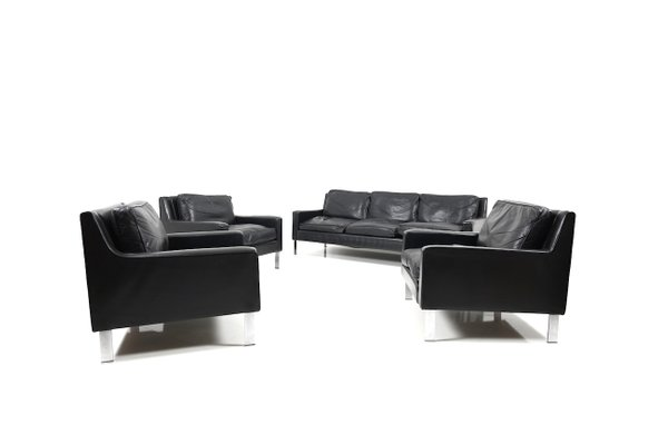 3-Seater Sofa and 3 Lounge Chairs from Tecta, 1960s