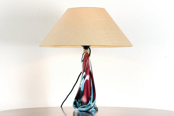Lampe De Bureau En Verre Murano Italie 1950s En Vente Sur Pamono