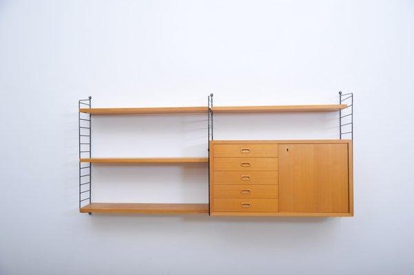 Design String Kasten : Vintage regalsystem von kajsa nisse strinning für string bei