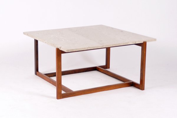 Mid Century Marble Coffee Table, 1968 1
