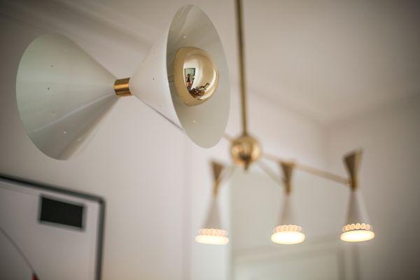 Lampade Da Soffitto Di Design : Lampada da soffitto mid century asimmetrica di stilnovo italia in
