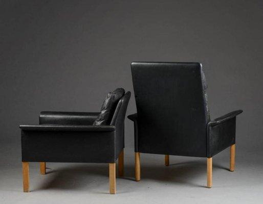 Incredible Mid Century Lounge Chairs Ottoman By Hans Olsen For Brande Mobelindustri Short Links Chair Design For Home Short Linksinfo