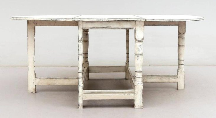 19th Century Swedish Farm Drop Leaf Table For Sale At Pamono
