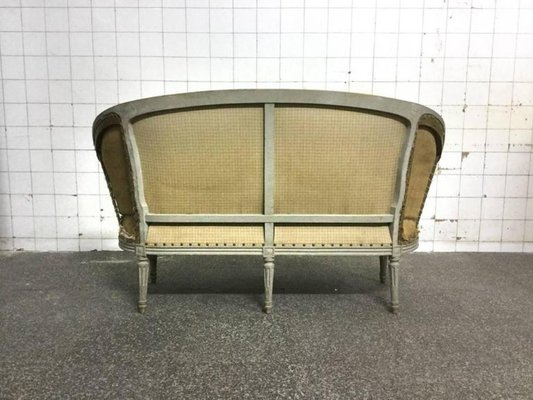 Beau Antique French Louis XVI Sofa 5