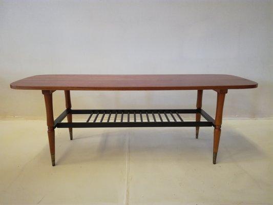 Scandinave Teck1960s Basse Table En Table oeWQBCdrx