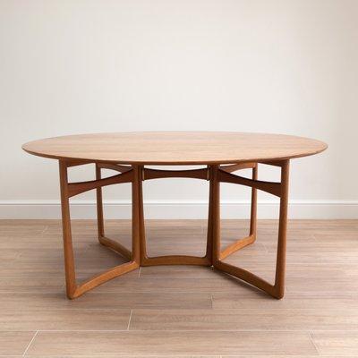 Gateleg Tisch.Gateleg Tisch Von Peter Hvidt Orla Mølgaard Nielsen Für France Søn 1950er